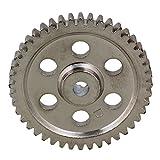 BQLZR BQLZR 0511244T argento, acciaio, metallo 44ZAEHNE Speed Drive diff. Ruota dentata principale, fuer HSP RC 1: 10Car