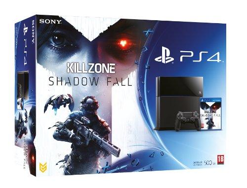 4 Bundle-fall (NEW! Sony Playstation 4 PS4 500GB Console Black UK Killzone Shadow Fall Bundle)