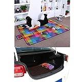 SONGMICS 195 x 150 cm Picnic Blanket Waterproof Backing Outdoor GCM61C