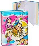 alles-meine.de GmbH Einsteckalbum / Fotoalbum -  Mädchen - Fashion Mode / Girl - Teenie  - 11x15 & 10x15 - Ringbuch beliebig erweiterbar - zum Einstecken - für bis zu 80 Bilder..