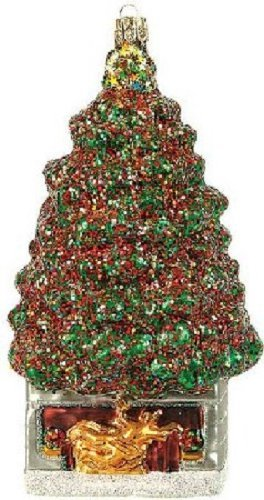 Pinnacle Peak Trading Company Rockefeller Center New York City Christmas Polish Glass Ornament NYC Decoration - Peak Center