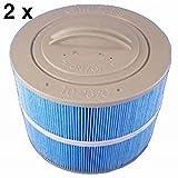Villeroy & Boch 2 Stück Whirlpool Filter Kartuschenfilter Ersatzfilter Microban bis BJ 2016