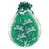 DeCoArt…... Set Preis 2 Geschenkeballons Stufferballons Alles Gute zum Geburtstag 45 cm naturell (ohne Schleife) ungefüllt und 10 Kleine Latexballons ca 13 cm Perl farbig Sortiert