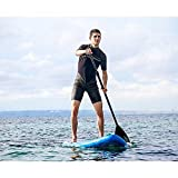 EXPLORER SUP 305x81x12cm SUNSHINE inflatable Stand Up Paddleset +Paddel+Pumpe+Tragetasche iSUP aufblasbar Board Paddle Surfboard surfen -