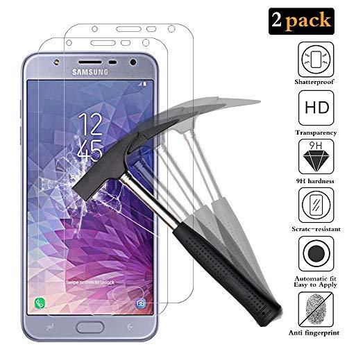 ANEWSIR Panzerglas Schutzfolie für Samsung Galaxy J7 Duo 2018 [2 Stück], Einfache Installation, Bubble-frei, HD klar, Panzerglasfolie Bildschirmschutzfolie für Samsung J7 Duo (2018) SM-J720F/DS