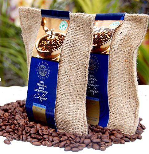 Café Blue Aus 100% Jamaika Blue Mountain Kaffee Bohnen (227g)