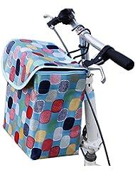 Cesta de la cesta de la cesta plegable de la cesta colorida portable para montar