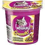 Whiskas Crunch Katzensnack Huhn, Truthahn und Ente, 5 Packungen (5 x 100 g)