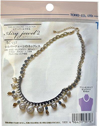 Preisvergleich Produktbild TOHO Perlen-Kit von Airy Jewel Silber Kette von Luftperlenkette AC-131 gemacht