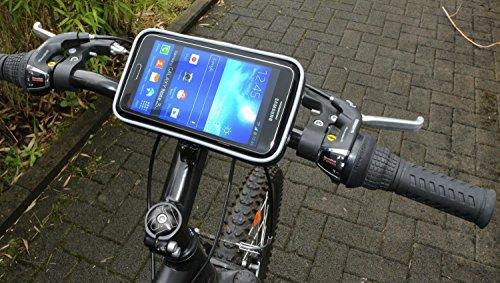 fahrradhalterung motorrad halterung mit schutz tasche. Black Bedroom Furniture Sets. Home Design Ideas