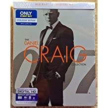 Daniel Craig 007 James Bond Blu-ray STEELBOOK Collection Edition