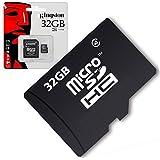 Acce2s - Carte Mémoire Micro SD 32 Go classe 4 pour HUAWEI Honor 8 Pro - 6X Pro - 6X - V8 - 8 - 5C - 7 Premium - 6 Plus - 5X - 7 - 4X - 6