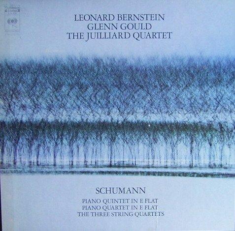 Schumann: Klavierquintett und -quartett Es-dur & die 3 Streichquartette [Vinyl Schallplatte] [3 LP Box-Set] Juilliard-set