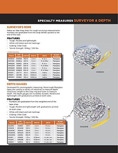 keson sr18100Messleiter Seil 100FT, SR18200