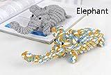 Hund Spielzeug, Chickwin Haustier Hund geflochten Seil Spielzeug Welpen Kauen dauerhafte interaktive Zahngesundheit Zähne Reinigung für kleine / mittelgroße Hund Bissen Spielzeug (Elefant)