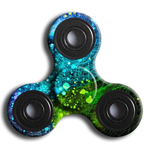 Preisvergleich Produktbild Bescita Fingerspitzen Gyro bunt lackiert Abschnitt Hand Spinner Fokus Spielzeug EDC Fidget Spinner Spielzeug Austism ADHS Bildung & Lernen Spielzeug (I)