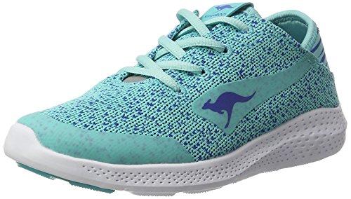 KangaROOS K-v I, chaussons d'intérieur femme Bleu (Blue Radiance/Electric Blue)