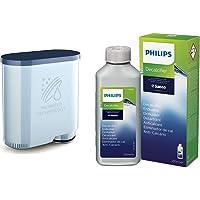 Saeco CA6903/00 Filtre à eau Aquaclean & CA6700/10 Detartrant Spécial Machine Espresso