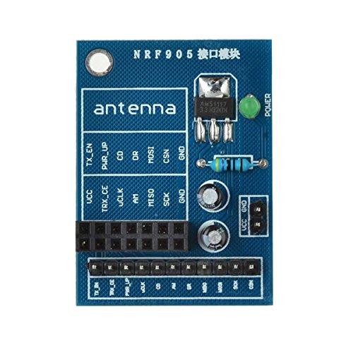 GUTES PRODUKT 14-Pin NRF905 Wireless Modul Sockel Adapter Plate Board Konverter für Arduino -