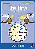 mindmemo Lernfolder - TIME - What's the time? - Die Uhrzeit auf Englisch lernen - Zusammenfassung: genial-einfache Lernhilfe - PremiumEdition (foliert)