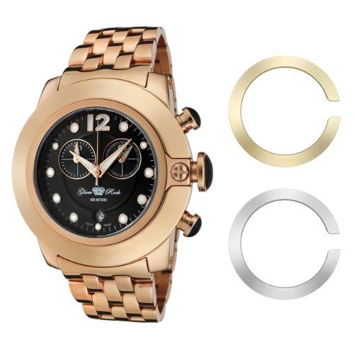 Glam Rock GR32156 - Reloj de Pulsera Mujer, Acero Inoxidable, Color Rosa