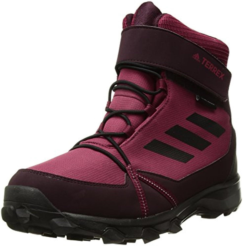 adidas outdoor unisexe enfants terrex snow k fc cp cw k snow soulier, mystère ruby / noir / bourgogne foncé, 2,5 enfant pas... 3a5c7d