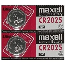 Tanco Impex 2 X Maxell Cr2025 2025 3V Lithium Batteries For Weight Watchers Scales