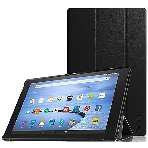 Fintie Hülle für Amazon Fire HD 10 Zoll (5. Generation - 2015 Modell) Tablet -Lightweight Schutzhülle mit Standfunktion und Auto Sleep / Wake Funktion,