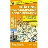 Plan de Châlons-en-Champagne et de son agglomération