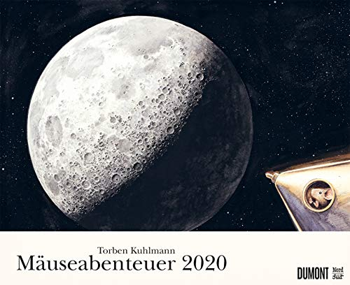 Torben Kuhlmanns Mäuseabenteuer 2020 - DUMONT Kinder-Kalender - Querformat 52 x 42,5 cm - Spiralbindung
