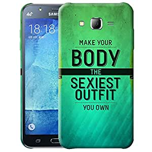 Theskinmantra Make your body the sexiest outfit you own back cover for Samsung Galaxy J7
