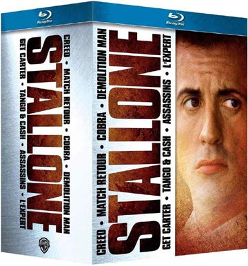 Ultimate Stallone - 7-Disc Box Set ( Grudge Match / The Specialist / Creed / Demolition Man / Cobra / Assassins / Tango & Cash ) [ Blu-Ray, Reg.A/B/C Import - France ]