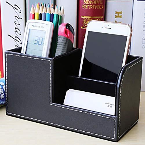 Multi-funzione Desk Stationery Storage Box Pen/Matita Cell Phone Biglietti da visita