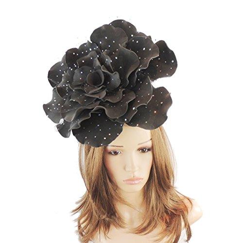 Hats By Cressida Damen Sonnenhut Schwarz Schwarz Einheitsgröße
