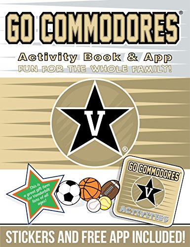 Go Commodores: Activity Book & App: Fun for the Whole Family!