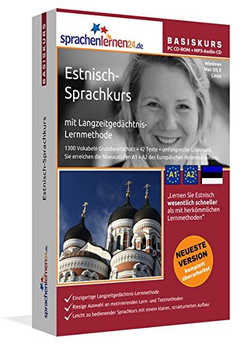 Sprachenlernen24.de Estnisch-Basis-Sprachkurs: PC CD-ROM für Windows/Linux/Mac OS X + MP3-Audio-CD...