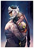 Instabuy Poster Genji & Mercy Overwatch (A) - A3 (42x30 cm)