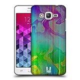 Head Case Designs Almost Metallic Bemalte Regenbogen Ruckseite Hülle für Samsung Galaxy Grand Prime