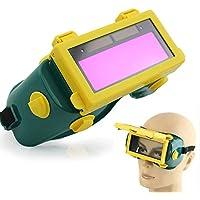 Solar Auto oscurecimiento LCD Soldadura Casco Soldadura Mascarilla Soldadura Gafas