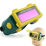 Solaire auto-obscurcissant LCD casque de soudage Masque de soudure soudure Lunettes de natation