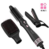 Abody 4-IN-1 Hot Air Styler Brush,One-Step Hair Dryer and Volumizer Hair Comb