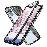 FroFine Coque iPhone XR Transparente, Etui iPhone XR d'adsorption Magnétique Double...