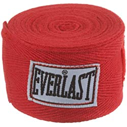 Everlast 4454R - Venda elástica, color rojo