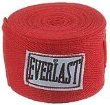 Everlast Erwachsene Boxen-Handschützer Handwraps, Red, one Size