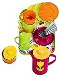 Gowi 454-16 Kaffeeservice Paris, Küchenspielzeug, 18 teilig