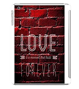 LOVE Designer Back Case Cover for Apple iPad Mini