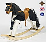 """PIE-BALD"" Handmade Brand New Rocking Horse ""Titan IV"" from MJMARK SALE SALE"