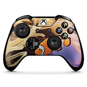 DeinDesign Skin Aufkleber Sticker Folie für Microsoft Xbox One X Controller Anemonenfisch Clownfisch Nemo Fisch