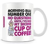 Aunty Acid Morning Rule No 1 Coffee Mug