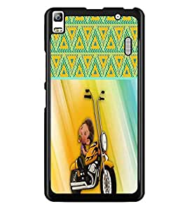 PrintDhaba Funny Image D-3757 Back Case Cover for LENOVO K3 NOTE (Multi-Coloured)